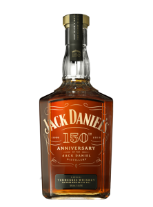 Jack Daniel's 150th Anniversary Tennessee Whiskey. Image courtesy Jack Daniel's/Brown-Forman.