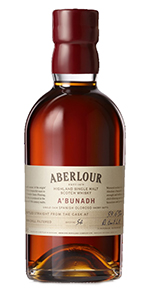 Aberlour A'Bunadh Batch #55. Image courtesy Chivas Brothers.