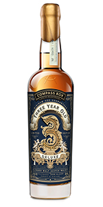 Compass Box Three Year Old Deluxe Blended Malt. Image courtesy Compass Box.