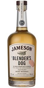Jameson's The Blender's Dog Irish Whiskey. Image courtesy Irish Distillers Pernod Ricard.