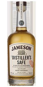 Jameson Distiller's Safe Irish Whiskey. Image courtesy Irish Distillers Pernod Ricard.