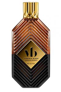 Virginia Black American Whiskey. Image courtesy Virginia Black.