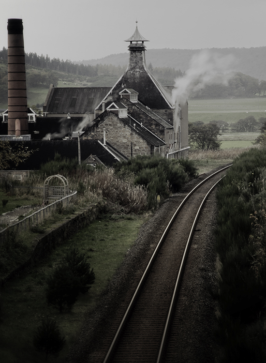 Inver House's Balblair Distillery. Photo ©2014, Mark Gillespie/CaskStrength Media.