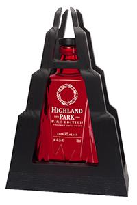 Highland Park Fire Edition. Image courtesy Highland Park/Edrington.
