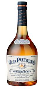 Old Potrero 18th Century Style Whiskey. Image courtesy Anchor Distilling.