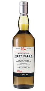 Port Ellen 37 Year OId. Image courtesy Diageo.