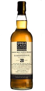 Single Cask Nation's Bunnahabahain 28 Cask #7403. Image courtesy Jewish Whisky Company.