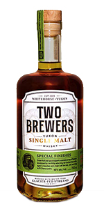Two Brewers Single Malt Release #04. Image courtesy Yukon Spirits.