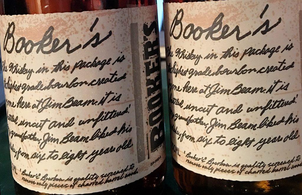 Booker's Bourbon labels. Photo ©2016, Mark Gillespie/CaskStrength Media.
