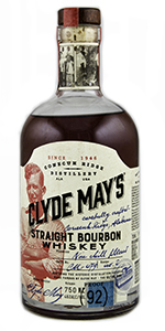 Clyde May's Straight Bourbon. Photo ©2017, Mark Gillespie/CaskStrength Media.