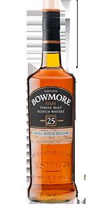 Bowmore 25. Image courtesy Beam Suntory.