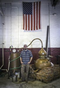 Cooper River Distillers founder James Yoakum. Photo ©2017, Mark Gillespie/CaskStrength Media.