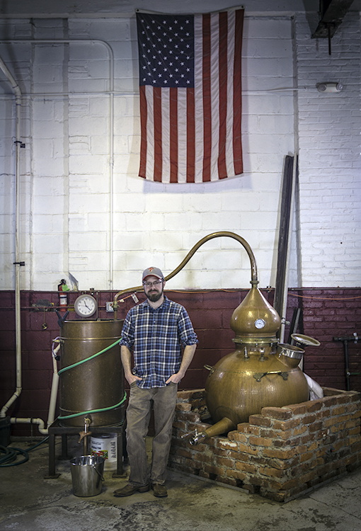 Cooper River Distillers founder James Yoakum. Photo ©2017, Mark Gillespie/CaskStrength Media.