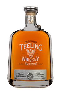 Teeling Vintage Reserve Collection 24 Year Old. Image courtesy Teeling Whiskey Company.