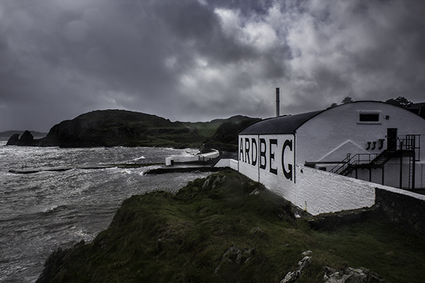 Ardbeg Distillery in Scotland. Photo ©2011, Mark Gillespie/CaskStrength Media.
