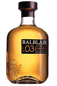 Balblair 2003 Vintage. Image courtesy Balblair.