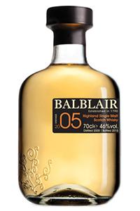 Balblair 2005 Vintage. Image courtesy Balblair.