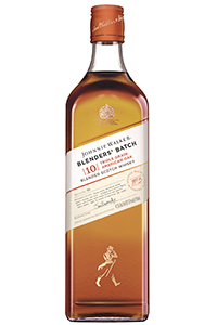 Johnnie Walker Blenders' Batch Triple Grain American Oak Blended Scotch Whisky. Image courtesy Diageo.