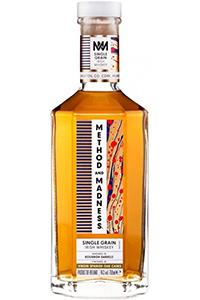 Method and Madness Single Grain Irish Whiskey. Image courtesy Irish Distillers Pernod Ricard.