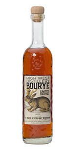 High West Bourye. Image courtesy High West Distillery.