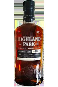 Highland Park 18 Cask Strength. Image courtesy Highland Park.