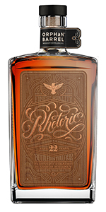 Orphan Barrel Rhetoric 22 Year Old Bourbon. Image courtesy Diageo.