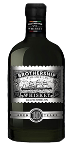 Brothership Irish-American Whiskey. Image courtesy Millstone Spirits.