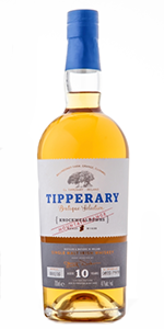 Tipperary Knockmealdowns Single Malt. Image courtesy Tipperary Distillery.