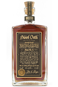 Blood Oath Pact No. 3 Bourbon. Image courtesy Luxco.