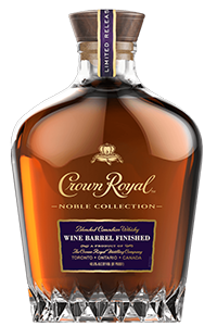 Crown Royal Wine Barrel Finished Canadian Whisky. Image courtesy Diageo.