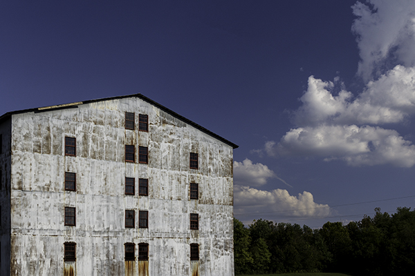 One of Heaven Hill's warehouses in Deatsville, Kentucky. File photo ©2017, Mark Gillespie/CaskStrength Media.