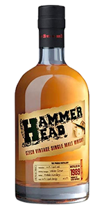 Hammer Head Czech Single Malt. Image courtesy Stock Spirits.