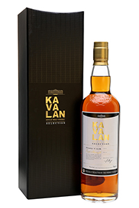 Kavalan 2007 Peaty Cask. Image courtesy Speciality Drinks/The Whisky Exchange.
