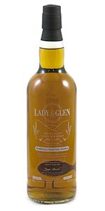 Lady of the Glen Secret Islay 14 Single Malt. Image courtesy Hannah Whisky Merchants.