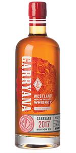 Westland Garryana 2/1 (2017 release). Image courtesy Westland Distillery.