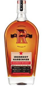 Ironroot Republic Harbinger Bourbon. Image courtesy Ironroot Republic Distillery.