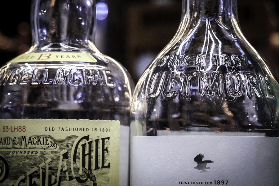 Single Malt Whisky bottles on display. Photo ©2017, Mark Gillespie/CaskStrength Media.