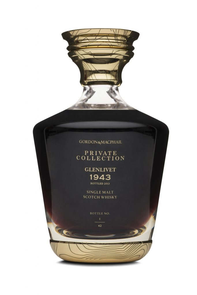 The Gordon & MacPhail Private Collection Glenlivet 1943. Image courtesy Gordon & MacPhail.