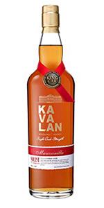 Kavalan Manzanilla Single Cask. Image courtesy King Car Group.