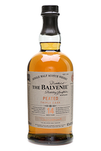 The Balvenie Peated Triple Cask. Image courtesy The Balvenie/William Grant & Sons.