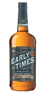 Early Times Bottled in Bond Bourbon. Image courtesy Early Times/Brown-Forman.