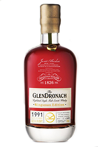 GlenDronach KIngsman Edition 1991. Image courtesy GlenDronach/Brown-Forman.