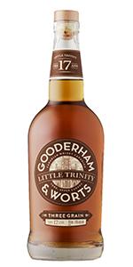 Gooderham & Worts Little Trinity Canadian Whisky. Image courtesy Corby Spirits & Wine.