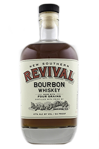 High Wire New Southern Revival 4 Grain Bourbon. Photo ©2017, Mark Gillespie/CaskStrength Media.