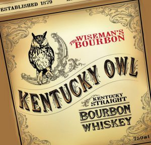 The Kentucky Owl Bourbon logo. Image courtesy Stoli Group.