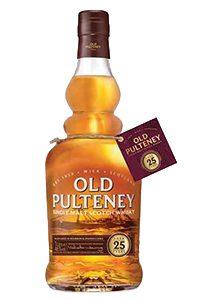 Old Pulteney 25. Image courtesy Inver House/International Beverage.