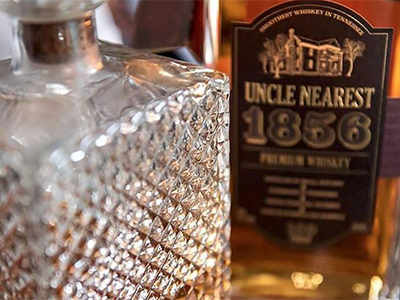 "The ""Uncle Nearest 1856"" Tennessee Whiskey. Image courtesy Uncle Nearest Whiskey."