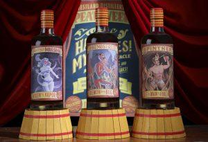 Westland Peat Week 2017 Commemorative Bottles. Image courtesy Westland Distillery.
