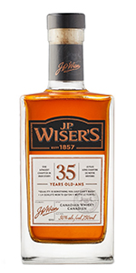 J.P. Wiser's 35 2017 Edition. Image courtesy Corby Spirit & Wine.