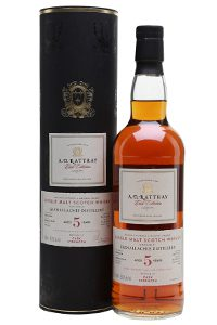 A.D. Rattray Glenallachie Single Cask. Image courtesy The Whisky Exchange/Speciality Drinks.